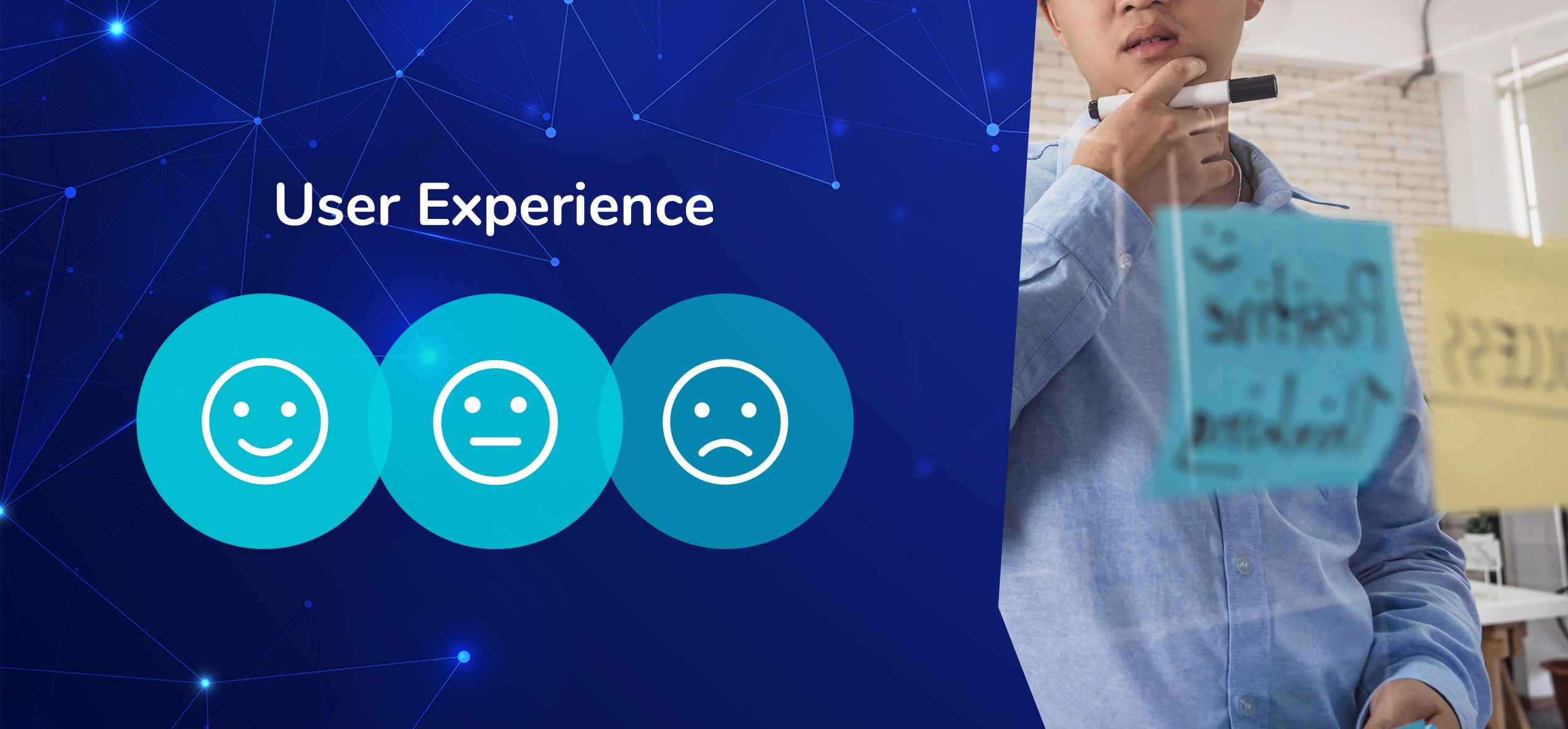 Digital design user experience and user interface - UX and UI